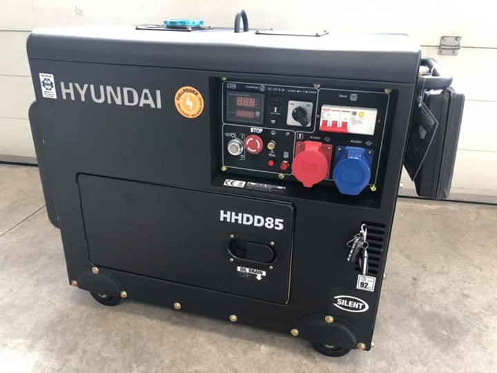 Hyundai diesel aggregaat 8kva te