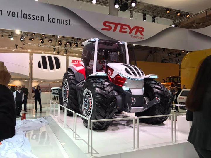 Steyr onthuld hybride concept