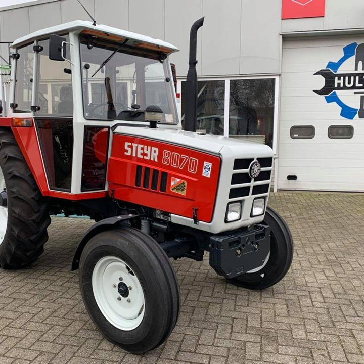 Steyr 8070 SK1.5 Te koop deze zeer