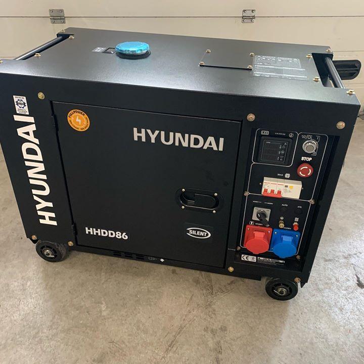 Hyundai geluidsarme diesel generator